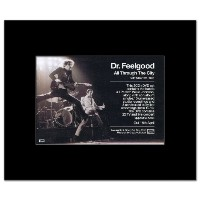 DR FEELGOOD - All Through the City Mini Poster - 21x13.5cm
