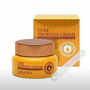 [LOHACELL] Pure Propolis Cream Moisture Beeswax Honey Whitening Anti-aging Skin Care Korea...