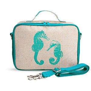 SoYoung Aqua Seahorse Insulated Lunch Box by SoYoung