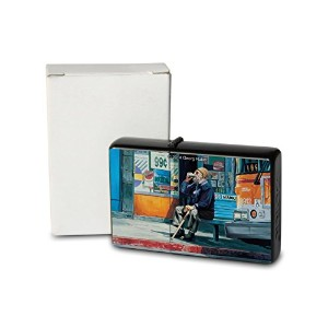 G. Huber Pocket Vintage Windproof lighter ライター Brushed Oil Refillable homeless USA
