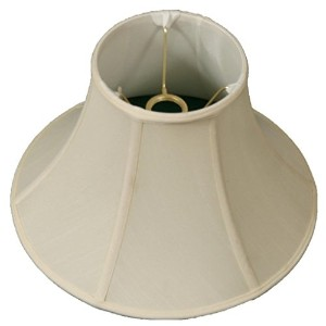 "Royal Designs Shallow Bell Lamp Shade, Eggshell, 6 x 13 x 9, UNO Floor Lamp by ""Royal Designs, Inc"""