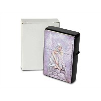 S. Fenech Pocket Vintage Windproof lighter ライター Brushed Oil Refillable Fairy wall