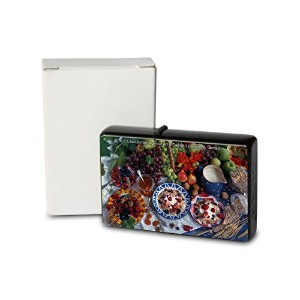 L. S?ren Pocket Vintage Windproof lighter ライター Brushed Oil Refillable cereal fruit