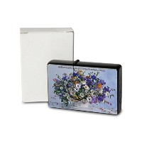 L. S?ren Pocket Vintage Windproof lighter ライター Brushed Oil Refillable Bouquets of flowers