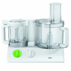 Braun FX3030WH Tribute Collection 600-Watt Food Processor, 220-volts (Not for USA), White by Braun