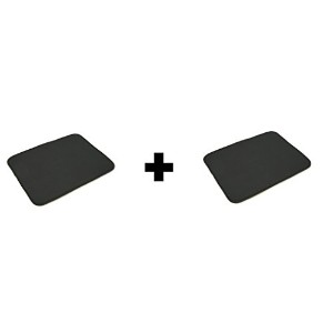 Norpro 16 By 18-inch Microfiber Countertop Dish Drying Mat / Pad, Black (16 By 18-inch , Black) by...