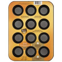 Baker's Secret 1114367 Essentials 12-Cup Muffin Pan, Mini by Baker's Secret