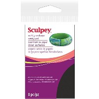 "Sculpey Wet/Dry Sandpaper Variety Pack 8pc-2.75""X4.5"" (並行輸入品)"