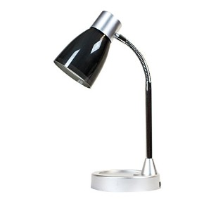 Newhouse Lighting 3W Classic Student's LED Desk Lamp, Black by Newhouse Lighting