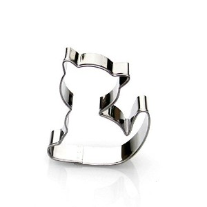 Cat Cookie Cutter- Stainless Steel by Sweet Cookie Crumbs