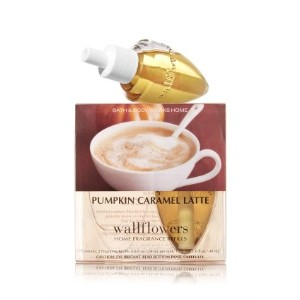 Bath and Body Works Pumpkin Caramel Latte Wallflowers Box of 2 Refills by Bath & Body Works [並行輸入品]