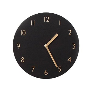 SANDWICH CLOCK RETORO BLACK