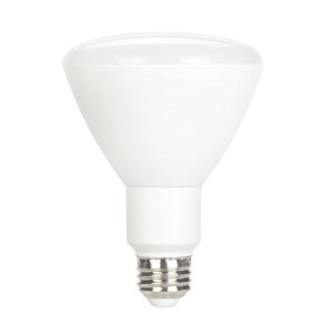 Globe Electric 31865 10-watt LED for Life Dimmable BR30 LED Light Bulb, E26 Base, Soft White by...