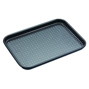 Master Class Crusty Bake Non-Stick Baking Tray, 24 x 18 cm (9.5) by KitchenCraft