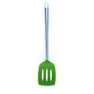 BEST Silicone Slotted Turner Spatula by Chef Frog - For Home or Professional Use - Features our...