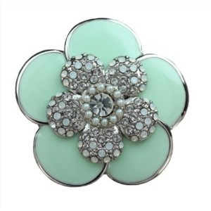 PiELY CAMELLIA SILVER-MINTGREEN