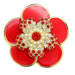 PiELY CAMELLIA GOLD-RED