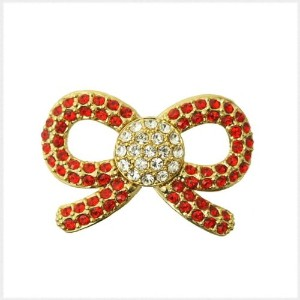 PiELY RIBBON GOLD-RED