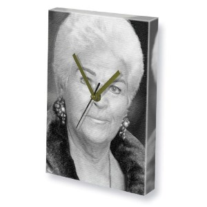 PAM ST.CLEMENT / PAM ST.CLEMENT - キャンバスクロック(A5 - アーティストによって署名されました) #js001