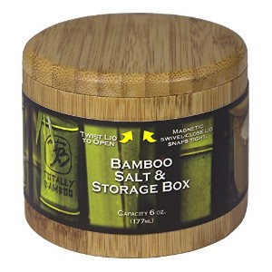 Totally Bamboo Round Salt Box by Totally Bamboo [並行輸入品]