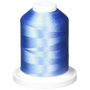 Rayon Super Strength Thread Solid Colors 1100 Yards-Baby Blue (並行輸入品)