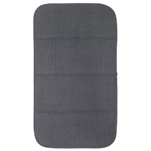 All-Clad Textiles Reversible Fast-Drying Mat, 16-Inch x 28-Inch, Pewter by All Clad Textiles
