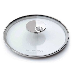 Mauviel - Collection m'cook - 18 cm glass lid