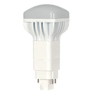 Satco S9304 LED Pl 4-Pin 2700K 900 lm G24Q Base Light Bulb with 120-Degree Beam Spread, 13W by Satco