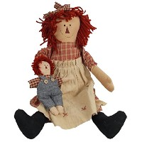 Craft Outlet Raggedy Ann Doll, 18-Inch