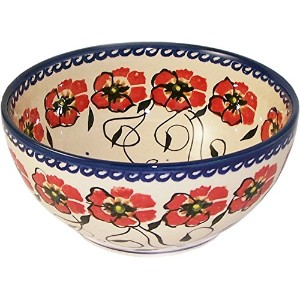 Boleslawiec Stoneware – ポーランド食器Cereal , ChiliまたはServing Bowl – Jazzy