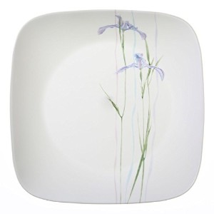 Corelle Square Shadow Iris 10.25 Dinner Plate (Set of 4) by Corelle Coordinates