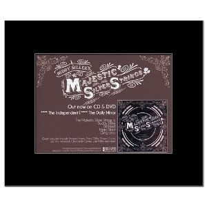 BUDDY MILLER - Majestic Silver Strings Mini Poster - 21x13.5cm