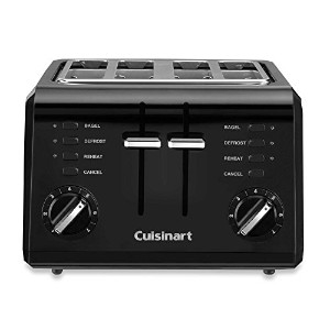 Cuisinart CPT-142BK 4-Slice Compact Toaster-Black by Cuisinart [並行輸入品]