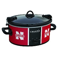 Nebraska Cornhuskers Collegiate Crock-Pot Cook & Carry Slow Cooker, 6 Quart by Crock-Pot