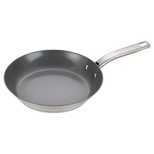 T-fal C71805 Precision Stainless Steel Nonstick Ceramic Coating PTFE PFOA and Cadmium Free Scratch...