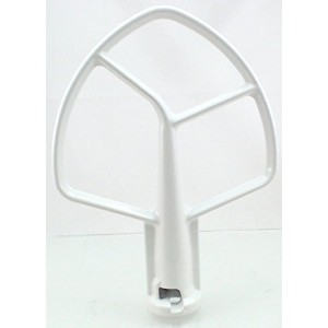 Stand Mixer 5 QT Coated Flat Beater for KitchenAid, PS983355, K5AB, SAW10807813 by Seneca River...