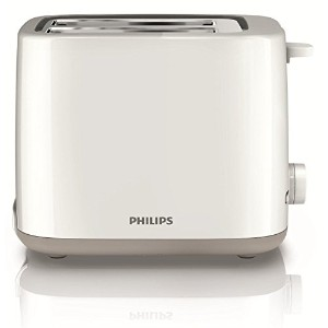 Philips HD-2595 2-Slice Bread Toaster, 220-volt (Non-USA Compliant), White [並行輸入品]