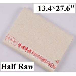 Chinese Calligraphy Kanji Painting Rice Paper (100 sheets 34x70cm) - Half Ripe by MasterChinese...