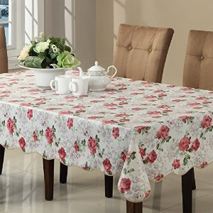 Ennas Cz017 Flannel Backed Vinyl Tablecloth Waterproof Square (58-Inch by 58-Inch Square) by ENNAS