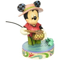 Enesco(エネスコ) Disney Traditions Mickey Mouse Fishing 4038493 [並行輸入品]