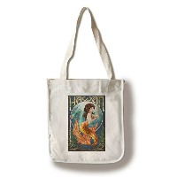 マーメイド – ハワイ Canvas Tote Bag LANT-46522-TT