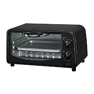 Courant TO-942K 4 Slice Countertop Toaster Oven with Bake and Broil Functions and 30 Minute Timer,...