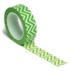 Trendy Tape Core Collection 15mmX10yd-Chevron Green (並行輸入品)