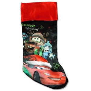 "Cars 20"" Slinky Satin Fully Printed Christmas Stocking by CARS [並行輸入品]"