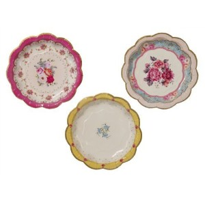 Talking Tables Truly Scrumptious Dessert/Cake Plates by Talking Tables [並行輸入品]