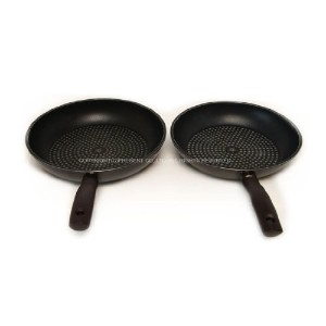 Happycall diamond porcelaine pan duo set 2pcs - C type (11 Inch fry pan + 11 Inch fry pan) by...