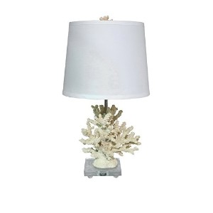 Three Hands Coral Table Lamp by Three Hands