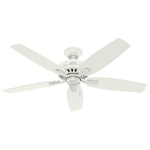 Hunter Fan Company 53322 52 Newsome Ceiling Fan, Fresh White by Hunter Fan Company