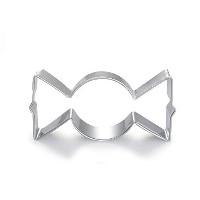 WJSYSHOP Wrapped Candy Shape Cookie Cutter for Celebrations Christmas Birthday Party Wedding...