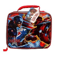 Disney MarvelキャプテンアメリカCivil War Insulated Soft Lunchバッグ